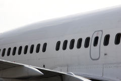Avião comercial Foto de Stock