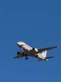 Avião comercial Airbus A-319 Imagens de Stock Royalty Free