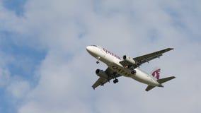 Avião comercial Airbus A320-232 Fotografia de Stock