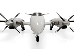 Avião confidencial da hélice do jato imagem de stock royalty free