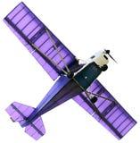 Avião confidencial no branco fotografia de stock