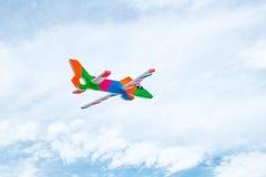 Avião da espuma fotografia de stock