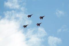 Avião da guerra do russo Imagens de Stock Royalty Free