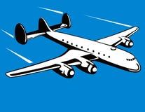 Avião da hélice ilustração stock