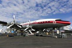 Avião da hélice de Turbo Foto de Stock