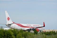 Avião de Air Algerie Imagens de Stock Royalty Free