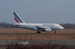 Avião de Air France Airbus A318 Imagens de Stock