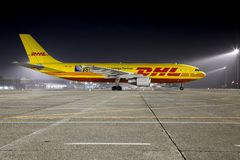Avião de carga Foto de Stock