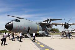 Avião de carga das forças armadas de Airbus A400 Imagens de Stock Royalty Free