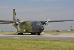 Avião de carga militar Fotografia de Stock