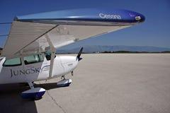 Avião de Cessna imagem de stock