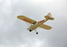 Avião de Cessna 120, Reino Unido Imagens de Stock Royalty Free