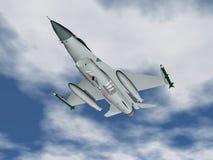 Avião de combate Imagens de Stock