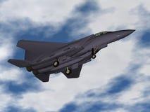 Avião de combate ilustração stock