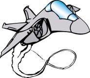 Avião de combate Foto de Stock Royalty Free