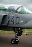 Avião de combate 3 da cabina do piloto Imagem de Stock