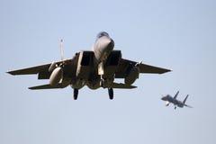 Avião de combate da força aérea fotografia de stock royalty free