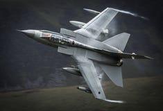 Avião de combate do furacão foto de stock