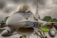 Avião de combate F16 imagens de stock royalty free