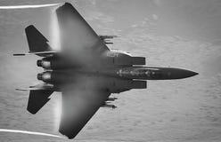 Avião de combate F15 fotografia de stock