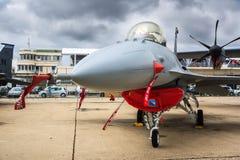 Avião de combate F16 Fotografia de Stock Royalty Free