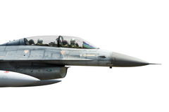 Avião de combate isolado Imagens de Stock Royalty Free