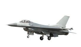 Avião de combate isolado imagens de stock