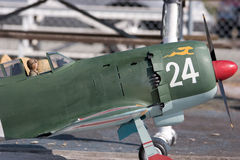 Avião de controle remoto Fotografia de Stock Royalty Free