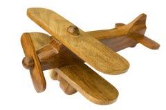 Avião de madeira Foto de Stock