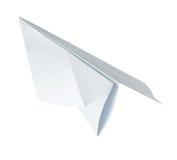 Avião de papel de Origami Fotos de Stock