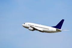 Avião de passageiros Foto de Stock