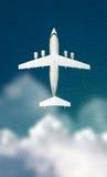 Avião de passageiros imagem de stock