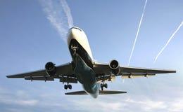 Avião de passageiros Fotos de Stock Royalty Free