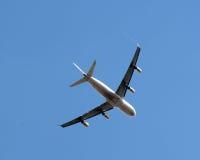 Avião de passageiros Imagens de Stock Royalty Free