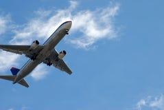 Avião de passageiros comercial Fotografia de Stock