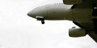 Avião de passageiros do jato Imagens de Stock