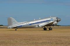 Avião de transporte anterior de RAAF - DC-3 fotos de stock