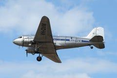 Avião de transporte anterior de RAAF - DC-3 Imagem de Stock Royalty Free