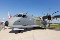 Avião de transporte das forças armadas da casa C295 Fotos de Stock