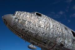 Avião decorado com grafittis Foto de Stock Royalty Free