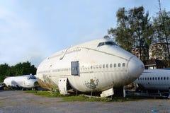Avião do abandono Fotos de Stock Royalty Free