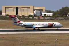 Avião do austríaco do EURO 2008 Imagens de Stock