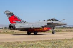 Avião do avião de combate de Dassault Rafale da marinha de França Imagem de Stock