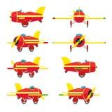 Avião do brinquedo ilustração do vetor