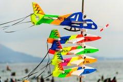 Avião do brinquedo da espuma Foto de Stock