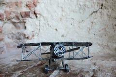 Avião do brinquedo retro para coletores Imagem de Stock Royalty Free