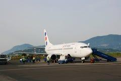 Avião do Jat foto de stock royalty free