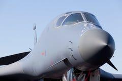Avião do jato do bombardeiro do Lancer B-1 Foto de Stock Royalty Free