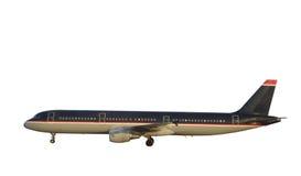 Avião do passageiro fotografia de stock
