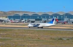 Avião do passageiro de Air Europa no aeroporto de Alicante Imagens de Stock